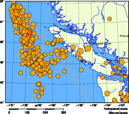 Regional Seismicity